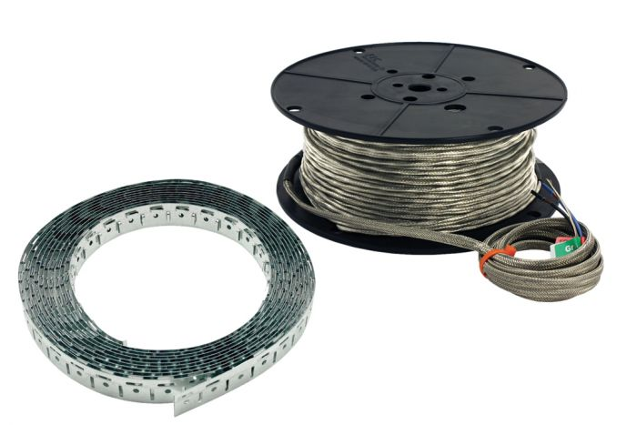 Warm wire cable set 120 v - 30 sq. Ft.